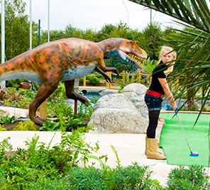 Jurassic Encounter Adventure Golf World Of Golf London