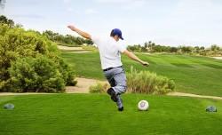 Footgolf, Beginners' golf