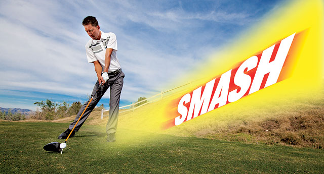 Smash factor in golf