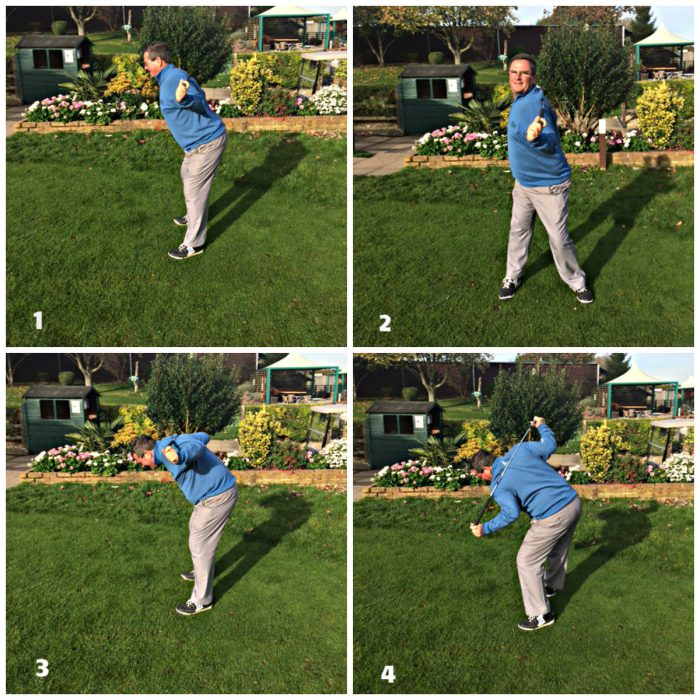 Good posture in golf