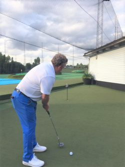 Practising putts