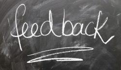 Golf survey feedback