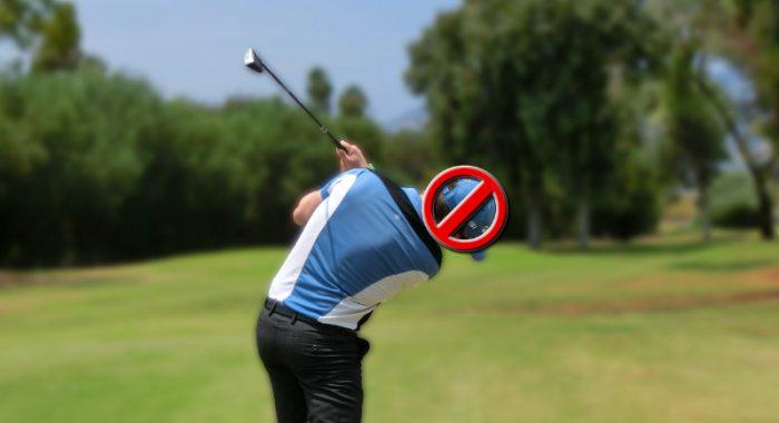 head postion in golf